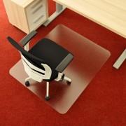 Čirá podložka na koberec pod židli - délka 120 cm, šířka 100 cm a výška 0,3 cm