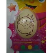Великденско яйце за оцветяване с Пиле