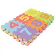 Mini 36pcs EVA Foam Pad Alphabet Number Puzzle Baby Crawl Play Kids Mat