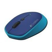 Logitech M335 Wireless Optical Mouse - Blue, 1 AA