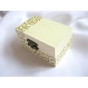cutie lemn decorata 22667
