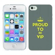 Husa iPhone 4S Silicon Gel Tpu Model Vip