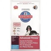 Hill S Science plan canine adult advanced fitness medium tuna mangime secco kg. 12