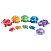 Learning Resources Number Turtles Set, 15 Pieces