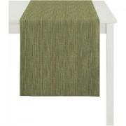 Apelt Tafelloper, »Avalon, uni-basic«, APELT (per stuk) - 29.99 - groen - Size: 46x135 cm