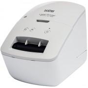 Brother Etikettendrucker »QL-600B«, Grau-Weiß