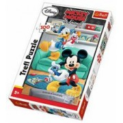 Puzzle clasic pentru copii - Mickey Mouse si Donald Duck 100 piese