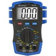 HOLDPEAK 37B Digitális multiméter VDC VAC ADC AAC NCV ellenállás kapacitás hőmérséklet dióda.