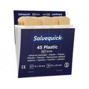 Cederroth Plåsterrefill Salvequick 6036 plast 6x45st/fp