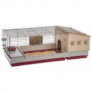 Ferplast Клетка за зайци Krolik 140 Plus, 142x60x50 см, 57072570