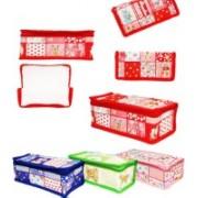 FORE TREND Multi-Purpose Travel Kits & Organizers or Toiletry Kits Set of 4 PCS(Blue)