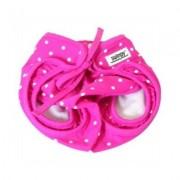Badblöja öppningsbar rosa från Swimpy - S (3-6mån/4-8kg)