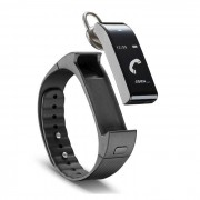 Cellular Line Cellularline Easy Fit Talk - Activity Tracker touch screen con Auricolare Bluetooth Mono Nero