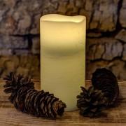 LED WAX lumânare, mentă, 15 cm
