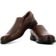 Clarks Gabson Step Slip On Shoes For Men(Brown)