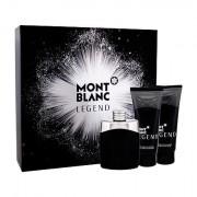 Montblanc Legend confezione regalo Eau de Toilette 100 ml + 100 ml balsamo dopobarba + doccia gel 100 ml uomo