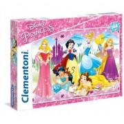 Puzzle Clementoni SuperColor: Disney Princess, 104 piese