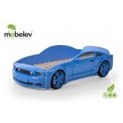 Pat masina tineret MyKids Light-MG 3D Albastru