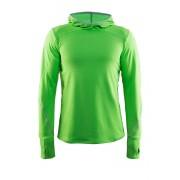 Több funkciós férfi pulóver CRAFT Mind Hood zöld