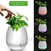 Suport pentru flori Smart cu Bluetooth, LED si Touch