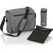 Geanta termica camping pentru schimbat bebelusi Britax Nursery Bag Charcoal Grey (Gri)