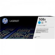 Тонер касета за HP 508X High Yield Cyan Original LaserJet Toner Cartridge (CF361X) - CF361X