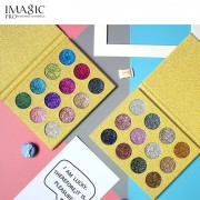 IMAGIC Glitters Eyeshadow 12 Colors Single Eyeshadow Pressed Glitter Palette Diamond Cosmetics Eyeshadow Magnet Palette