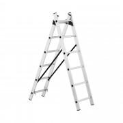 Aluminium Ladder - height 2.54 m - 12 rungs