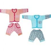 Jo kids wear Baby Boy Cotton Dress Set (Top and Pant) Multi Color Set of 2 (1005)