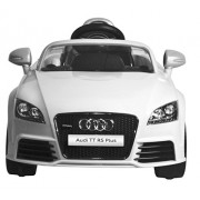 DURABLE KING AUDI TT RS PLUS DUAL Electric Motor and Dual Battery Car-Battery Operated Remote control Ride On Car with light and music