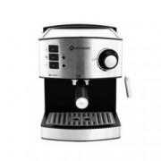 Ръчна еспресо кафемашина Rohnson R-980, 850W, 20 bar, резервоар за вода 1.6 л., дюза за капучино, двойни филтри от неръждаема стомана,сребриста