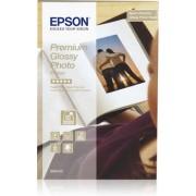 Hartie foto Epson Premium Glossy, 100 x 150 mm, 255g/m2, 40 coli