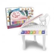 Детска играчка, Електронно пиано с 8 клавиша и микрофон, 191069