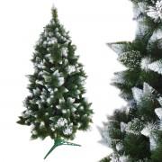 Stromček vianočný borovica zasnežená 2,2 m WW
