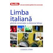Limba italiana. Ghid de conversatie, cu dictionar bilingv