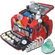 borsa kit emergenza doctor 4 - piena - rossa