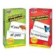 Spanish Flash Cards From Trend Enterprises, Picture Words & More Picture Words / Palabras E Imgenes & Ms Palabras E Imgenes Skill Drill Flash Cards Bundle Of 2 Items By Trend Enterprises
