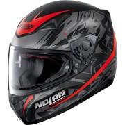 Nolan N60-5 Metropolis Helmet Black Red L