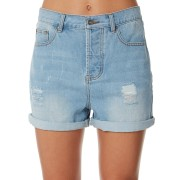 Rip Curl Vixen Denim Womens Short Mid Blue