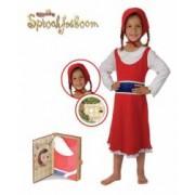 Pijama copii Scufita Rosie Playama 110-116 cm 5-6 ani