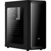 Carcasa Aerocool ATX SI 5200 WINDOW BLACK, USB 3.0, fara sursa