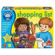 Joc educativ in limba engleza - Lista de cumparaturi, Shopping list