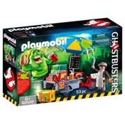 Playmobil Ghostbusters, Slimmer si stand de hot dog