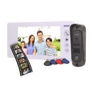"""Domovní bezsluchátkový videotelefon pro 1 byt ORNO ARCUS RFID 7"""" bílý OR-VID-JS-1053/W"""
