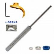 Kit Gas Ram 60kg Striker Edge E Striker 1000s + Gatilho Ajustável - Quick Shot