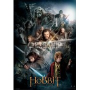 kép 3D The The Hobbit Dark Montage - Pyramid Posters - PPL70157