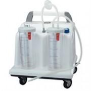 aspiratore chirurgico tobi clinic su rotelle - commutatore a pedale -