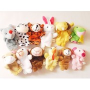 Star Room 12 supporting finger puppet set Finger Puppet animal children in nursery school kindergarten home (12)