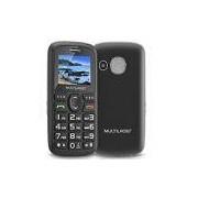Telefone celular Vita Dual Chip VGA 1.8 Preto P9048 Multilaser