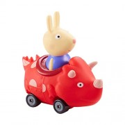 Peppa Pig Push Along Mini Buggies Richard In Red Dinosaur Vehicle